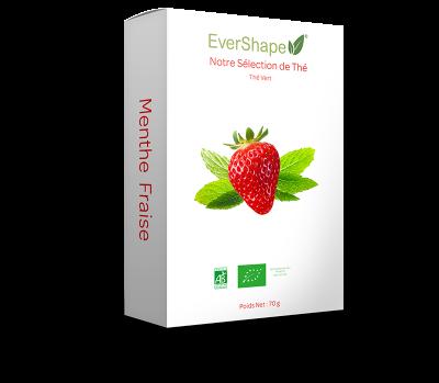 Thé vert fraise menthe
