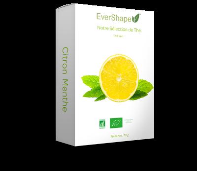 Thé vert menthe citron